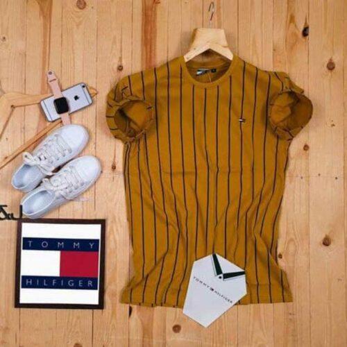 Tommy Hilfiger Men's Tshirt Yellow