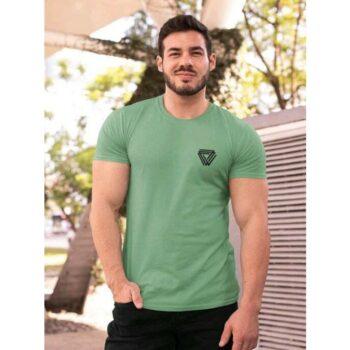 Trendy Cotton Tshirt for Men Green