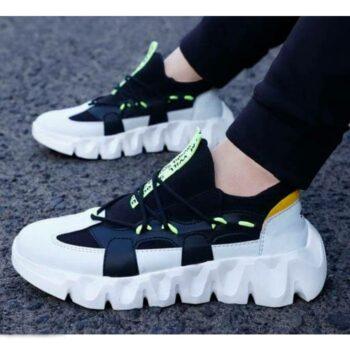 Trendy Sports Shoes for Men (Black)