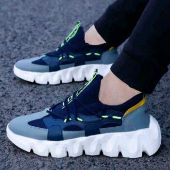 Trendy Sports Shoes for Men (Blue)
