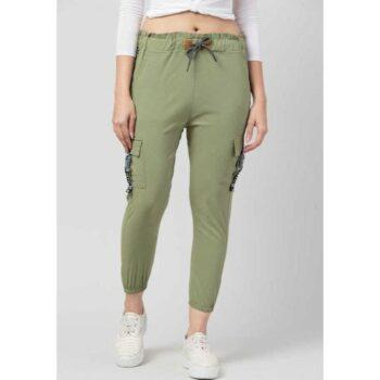 Wia Fashion Fancy Attractive Cargo Green
