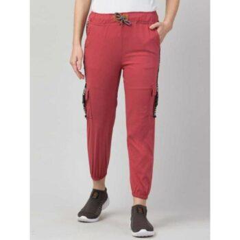 Wia Fashion Fancy Attractive Cargo Red
