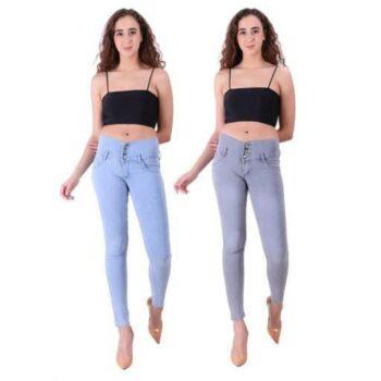 Women Denim Jeans Pack of 2