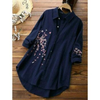 Women Rayon Embroidery Top