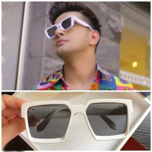 Arzonai Latest Trendy Famous Badshah, Jas Manak, Sahil Khan Square Unisex Stylish Sunglasses