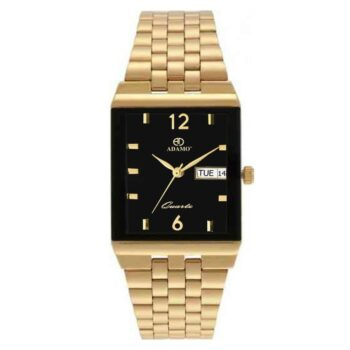 Attractive Golden Watch for Men with Day and Date Display