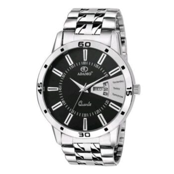Attractive Stainless Steel Silver Watch for Men