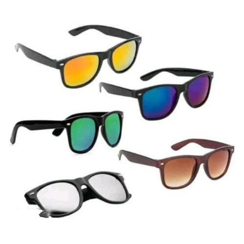 Casual Unique Sunglasses for Men Pack of 5
