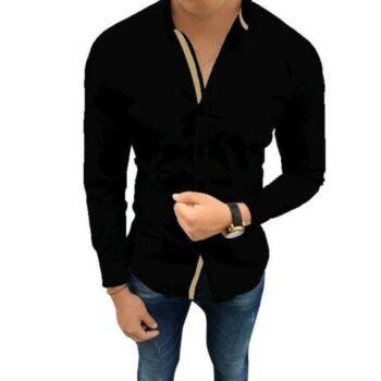 Classy Fashionable Men Solid Shirt