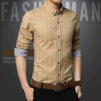 Classy Men Checkered Shirt