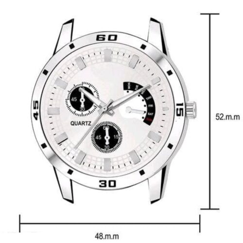 Classy Stainless Steel Watch for Men 16