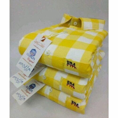 Ethnic Stylish Premium Cotton Printed Men's Shirt