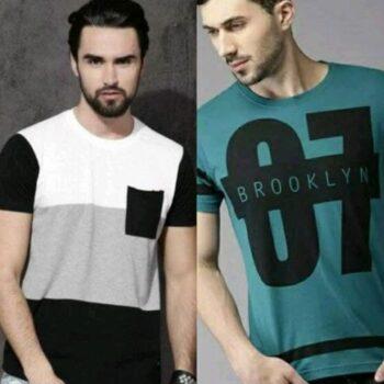 Fancy Elegant Combo Tshirt for Men