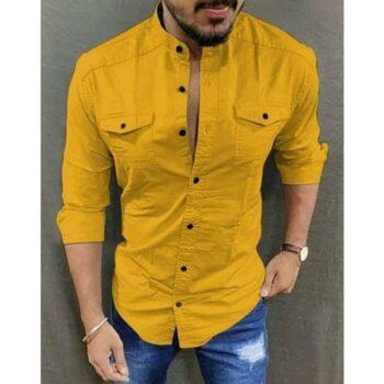 Fancy Glamorous Men Cotton Shirt
