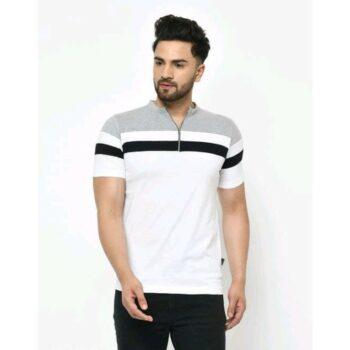 Fancy Graceful Men Cotton Tshirt