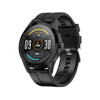 Fire-Boltt Talk Bluetooth Calling Smartwatch with SpO2 and a Full Touch Large Display, Heart Rate Monitoring, Multiple Watch Faces (Black)