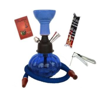 Glass Hookah Set with Flavor (8 inch)
