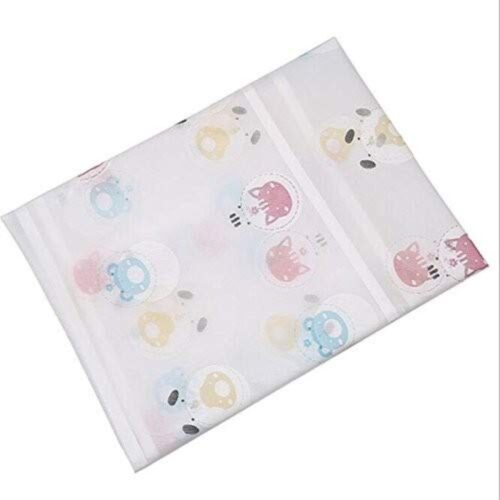 Home Transparent Printing Waterproof Cloth dust Cover Household Refrigerator Cover Towel Hanging Storage Bag Flamingo 130 X 55cm in Random Color Print 1pc 4