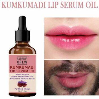 Kumkumadi Lip Serum Oil Lips Soft & Glossy For Men & Women