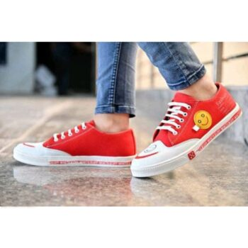 Modern Smiley Men Casual Shoes