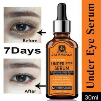 Premium Anti Wrinkle Under Eye Serum Enriched with Vitamin C, B3 & E with AntiAging Benefits