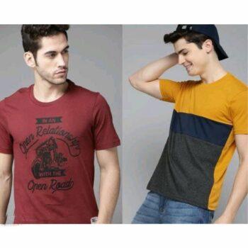 Pretty Retro Combo Tshirt for Men