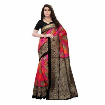 Riya Solid Art Silk Saree