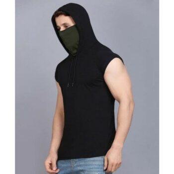 Rockhard Sleevless Hooded Tshirt with Mask