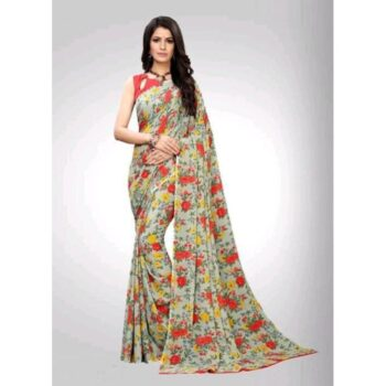 Stylish Aagam Georgette Women Sarees