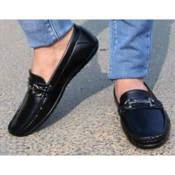 Stylish Buckle Loafer Shoe For Men