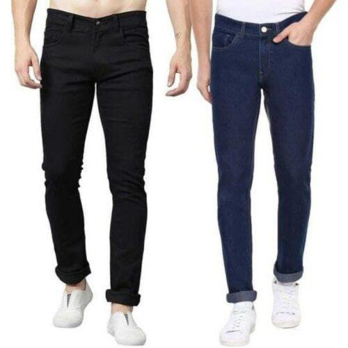 Stylish Combo Cotton Lycra Jeans for Men