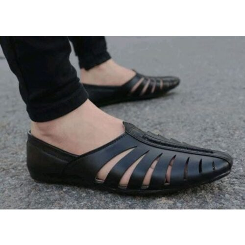 Stylish Men's Black Casual Loafers
