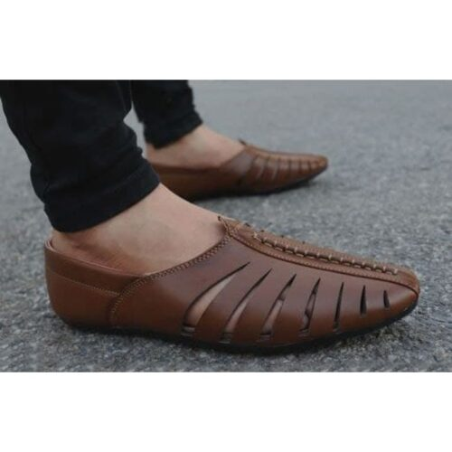Stylish Men's Brown Casual Loafers