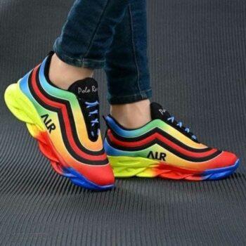 Stylish Men's Mesh Sports Shoes
