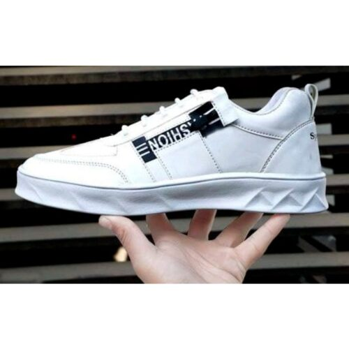 Stylish Mens Synthetic Leather Sneakers 9