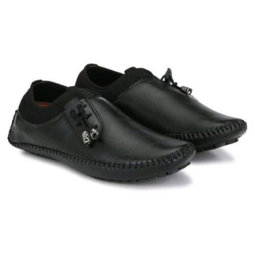 Stylish Mens Tpr Black Casual Shoes 1