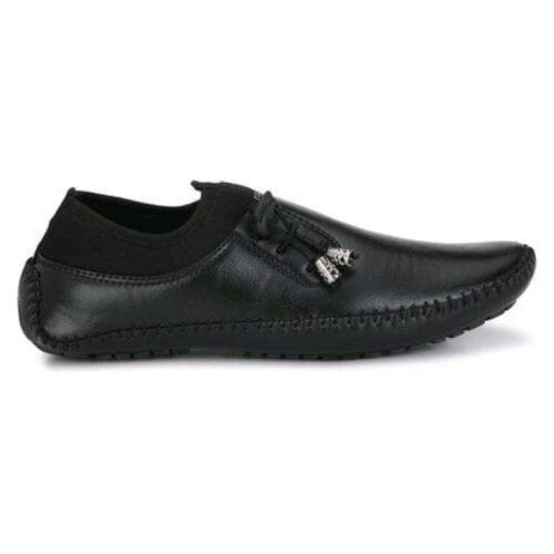 Stylish Men's Tpr Black Casual Shoes