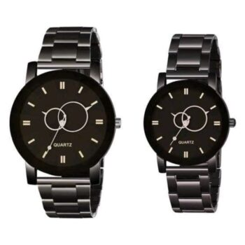Trendy Attractive Couple Watch Combo ( Pack Of 2 )