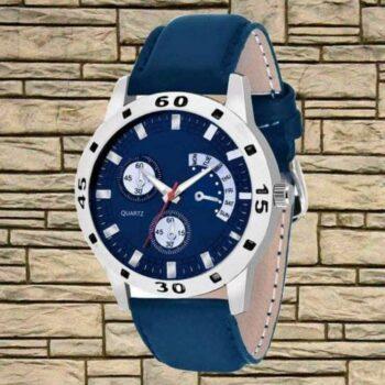 Trendy Blue Watch for Men
