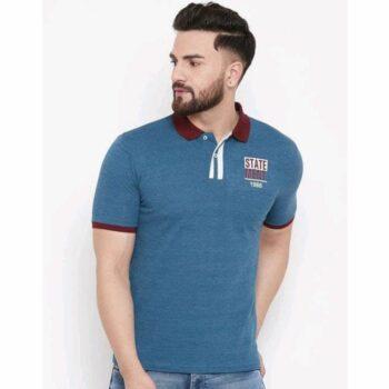Trendy Partywear Men Polo Tshirt