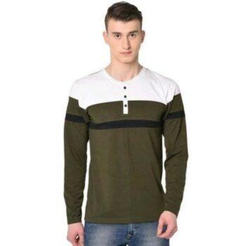 Trendy Retro Men Cotton Tshirt