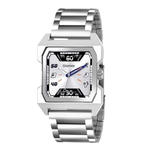 Trendy Stylish Stainless Steel Watch for Men