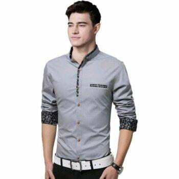 Urbane Men Solid Pure Cotton Shirt