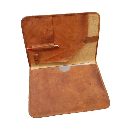 Aurik Business Leather Smart Folio Wallet Diary Flap Flip Book case Cover with Card Holder for iPad