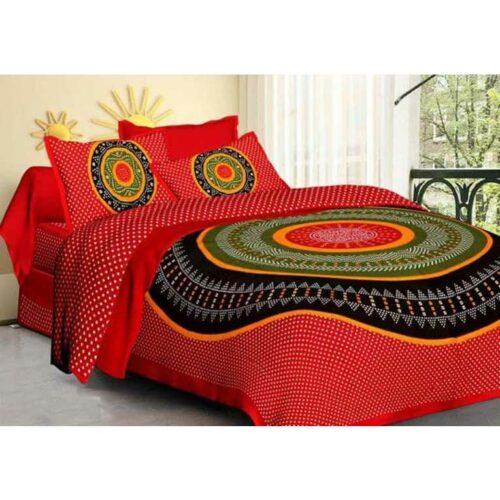 Classic Cotton Double Bedsheet