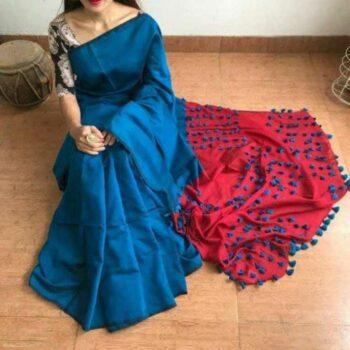 Cotton Silk Saree for Women