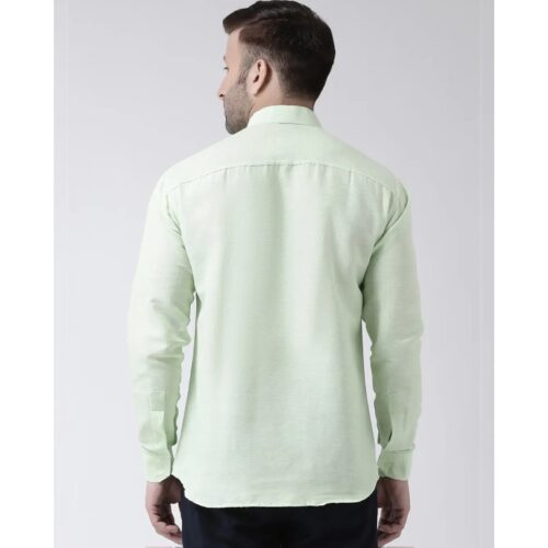 Full Sleeves Cotton Casual Chinese Neck Shirt 25