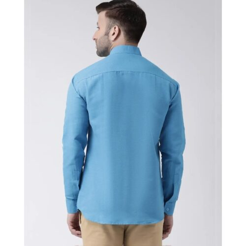 Full Sleeves Cotton Casual Chinese Neck Shirt (2)