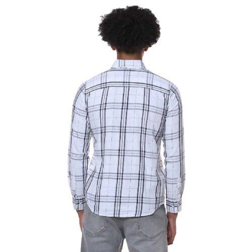 Men Checks Casual Stylish Spread Shirt 1
