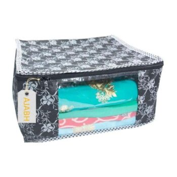 Non Woven Printed Saree, Suit, Clothes Organizer (Pack of 6)